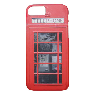 London Red Telephone Box iPhone 8/7 Case