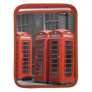 London Red Telephone Boxes iPad Sleeve