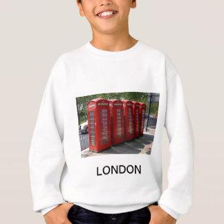 London Red Telephone Boxes Sweatshirt