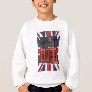 London Red Telephone Boxes Sweatshirt