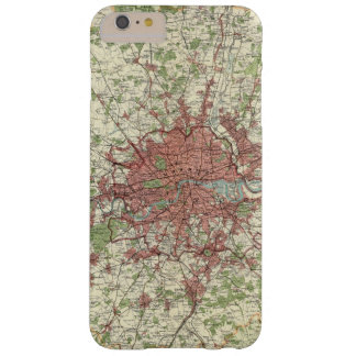 London Region Map Barely There iPhone 6 Plus Case