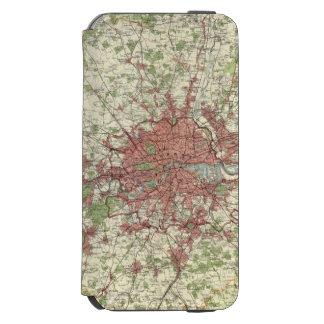 London Region Map Incipio Watson™ iPhone 6 Wallet Case
