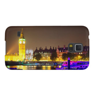 London River and Big Ben Galaxy S5 Cover