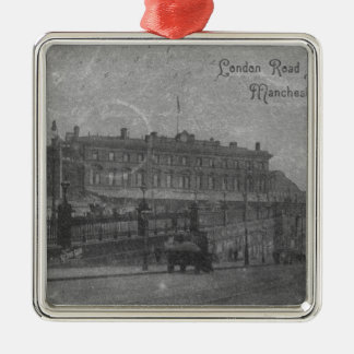 London Road Station, Manchester, c.1910 Christmas Ornament