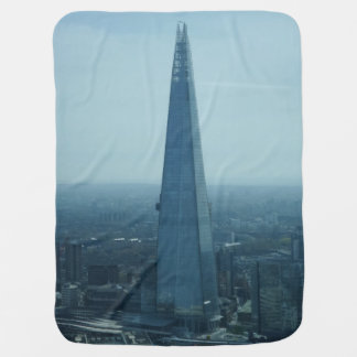 London Shard Skyscraper Baby Blanket