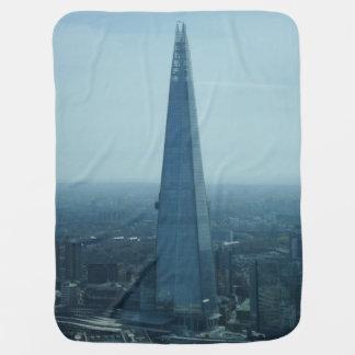 London Shard Skyscraper Baby Blanket