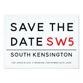 LONDON SIGN | SAVE THE DATE