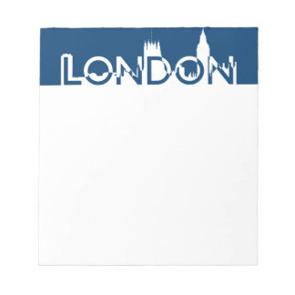 London silhouette notepad