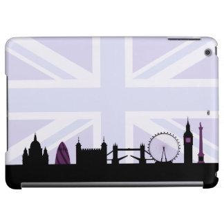 London Sites Skyline & Union Jack/Flag Purples
