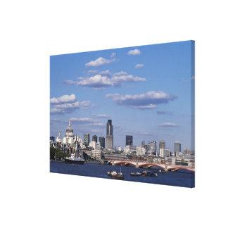 London Skyline 2 Canvas Print