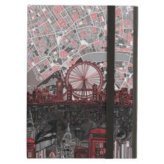 london skyline abstract iPad air case