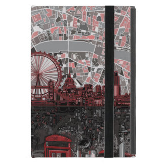 london skyline abstract iPad mini cases