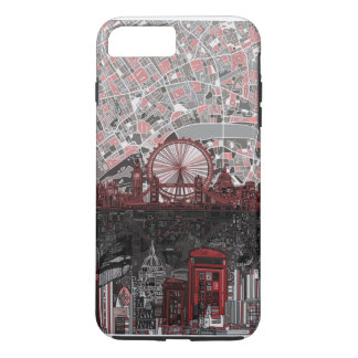 london skyline abstract iPhone 7 plus case
