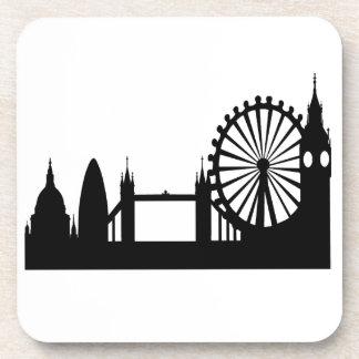 London Skyline Beverage Coasters
