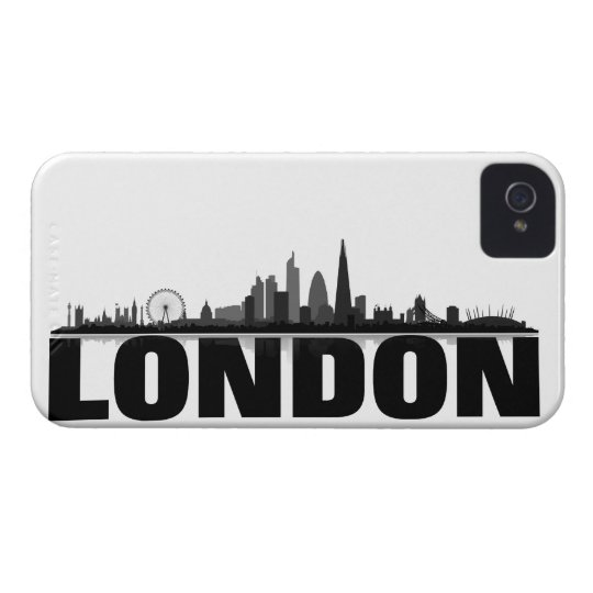 London skyline Blackberry covering iPhone 4 Case-Mate Cases
