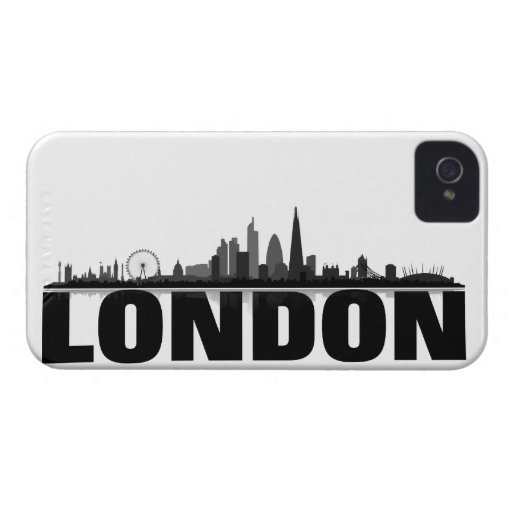 London Skyline BlackBerry Hülle iPhone 4 Case-Mate Cases