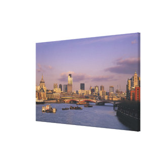 London Skyline Canvas Print