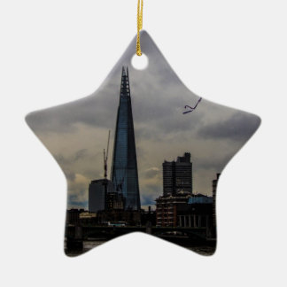 London Skyline Ceramic Star Decoration