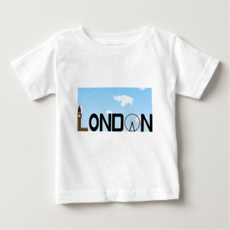 London Skyline Daytime Baby T-Shirt