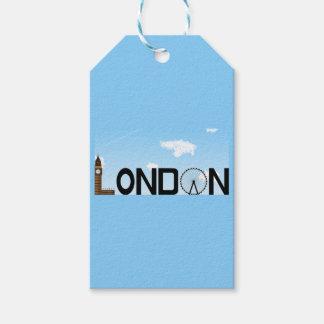 London Skyline Daytime Gift Tags