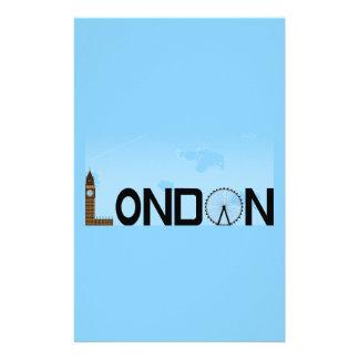 London Skyline Daytime Stationery