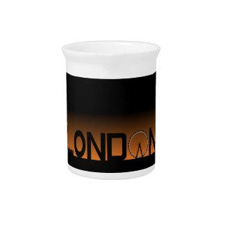 London skyline drink pitchers