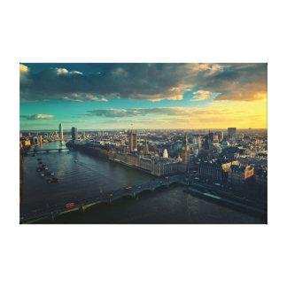 London skyline gallery wrap canvas