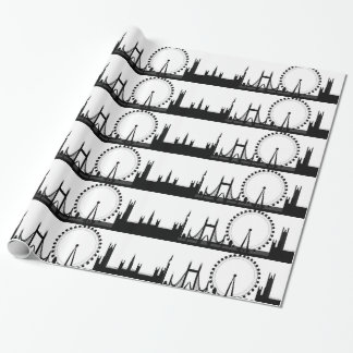 London Skyline Gift Wrap London Wrapping Paper