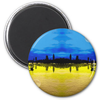 London Skyline Magnet
