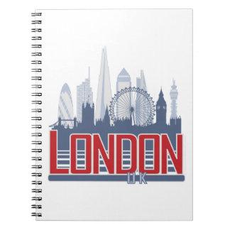London Skyline Note Book