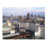 London skyline post card