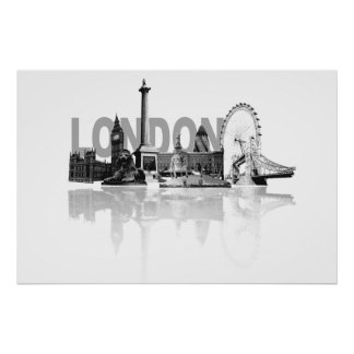 London Skyline Posters