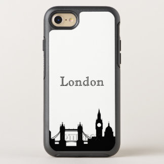London Skyline Silhouette Case