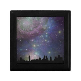 London skyline silhouette cityscape gift box