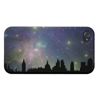 London skyline silhouette cityscape iPhone 4/4S cases