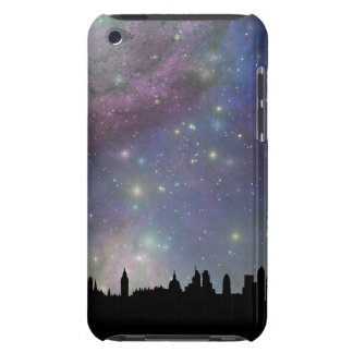 London skyline silhouette cityscape iPod touch case