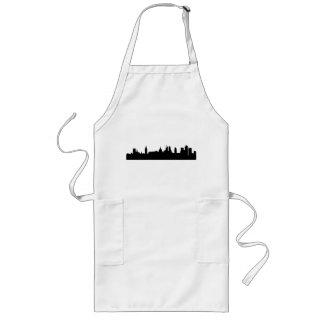 London skyline silhouette cityscape long apron