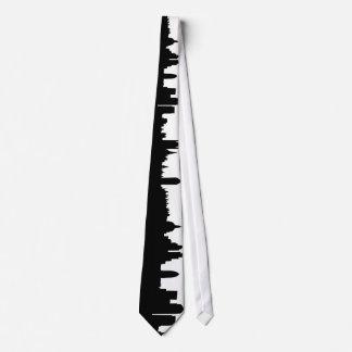 London skyline silhouette cityscape tie