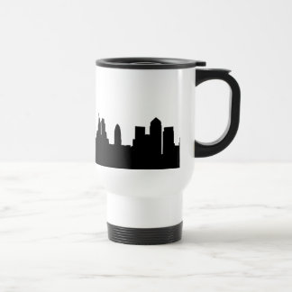London skyline silhouette cityscape travel mug