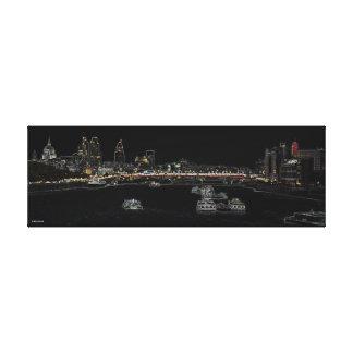 London skyline - The City Canvas Print