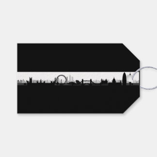 London Skyline Themed Gift Tags