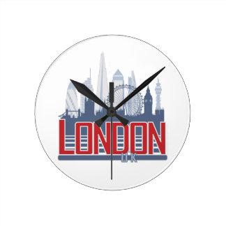 London Skyline Wall Clocks