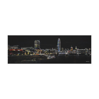 London skyline - Westminster Canvas Print