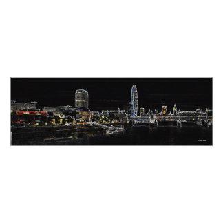 London skyline - Westminster Photo Print