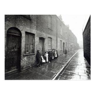 London Slums, c.1900 Postcard