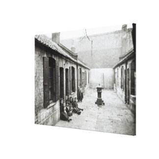 London Slums Canvas Print