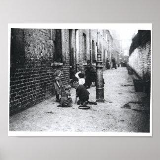 London Slums Print