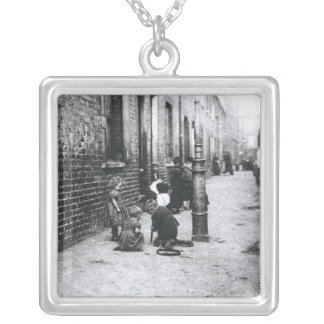 London Slums Silver Plated Necklace