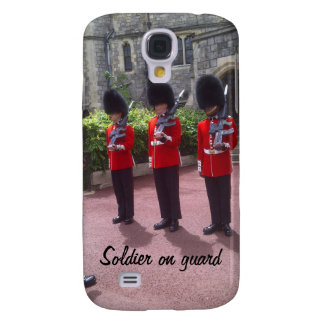 London soldiers on guard Samsung Galaxy S4, Barely Galaxy S4 Case