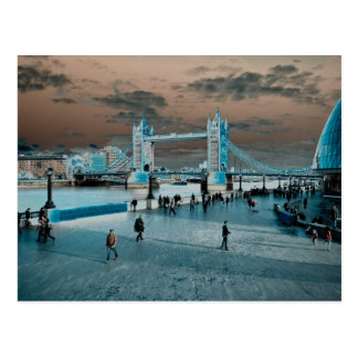 London south Bank selenium toned image Postcards